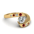 yellow-gold-round-white-diamond-engagement-wedding-ring-with-red-ruby-in-bezel-set-FD121032RORGRUDR-NL-YG