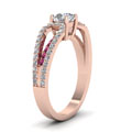 rose-gold-round-white-diamond-engagement-wedding-ring-with-dark-pink-sapphire-in-prong-set-FD68717RORGSADRPIANGLE2-NL-RG