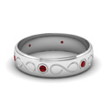white-gold-round-red-ruby-mens-wedding-band-in-bezel-set-FDDB1284BGRUDR-NL-WG