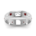 white-gold-round-red-ruby-mens-wedding-band-in-bezel-set-FDDB1284BGRUDRANGLE5-NL-WG