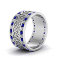 white-gold-round-white-diamond-mens-wedding-band-with-blue-sapphire-in-channel-set-FDDB1337BGSABLANGLE2-NL-WG