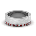 white-gold-round-red-ruby-mens-wedding-band-with-white-diamond-in-pave-set-FDDB1339BGRUDR-NL-WG