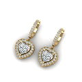 heart-shaped-diamond-halo-hoop-earrings-with-white-diamond-in-14K-yellow-gold-FDEAR1107ANGLE2-NL-YG