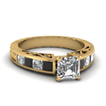 yellow-gold-asscher-white-diamond-engagement-wedding-ring-with-black-diamond-in-channel-set-FDENR2640ASRGBLACK-NL-YG