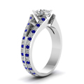 white-gold-oval-white-diamond-engagement-wedding-ring-with-blue-sapphire-in-pave-set-FDENR2774OVRGSABLANGLE2-NL-WG