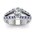 white-gold-oval-white-diamond-engagement-wedding-ring-with-blue-sapphire-in-pave-set-FDENR2774OVRGSABLANGLE5-NL-WG