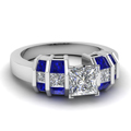 white-gold-princess-white-diamond-engagement-wedding-ring-with-blue-sapphire-in-channel-set-FDENR2906PRRGSABL-NL-WG