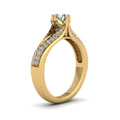 yellow-gold-round-white-diamond-engagement-wedding-ring-in-pave-set-FDENR8205RORANGLE2-NL-YG