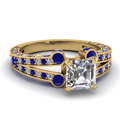 yellow-gold-asscher-white-diamond-engagement-wedding-ring-blue-sapphire-in-pave-set-FDENR8365ASRGSABL-NL-YG