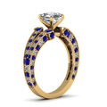 yellow-gold-asscher-white-diamond-engagement-wedding-ring-blue-sapphire-in-pave-set-FDENR8365ASRGSABLANGLE2-NL-YG
