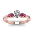 rose-gold-oval-white-diamond-engagement-wedding-ring-with-dark-pink-sapphire-in-pave-bezel-set-FDENS2035OVRGSADRPIANGLE5-NL-RG