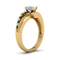 yellow-gold-princess-white-diamond-engagement-wedding-ring-with-black-diamond-in-prong-set-FDENS3166PRRGBLACKANGLE2-NL-YG