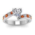white-gold-heart-white-diamond-engagement-wedding-ring-with-orange-sapphire-in-channel-set-FDENS4028HTRGSAORANGLE5-NL-WG