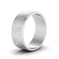 white-gold-abstract-carved-design-mens-wedding-band-FDM915BANGLE2-NL-WG