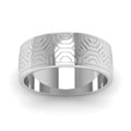 white-gold-abstract-carved-design-mens-wedding-band-FDM915BANGLE5-NL-WG